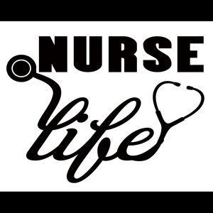 LVN Nurse Life Vinyl Decal Adhesive Sticker